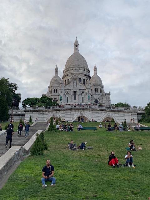 Sacré-Cœur, superba bazilică din Montmartre