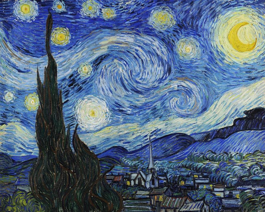 Picturile lui van Gogh prind viață